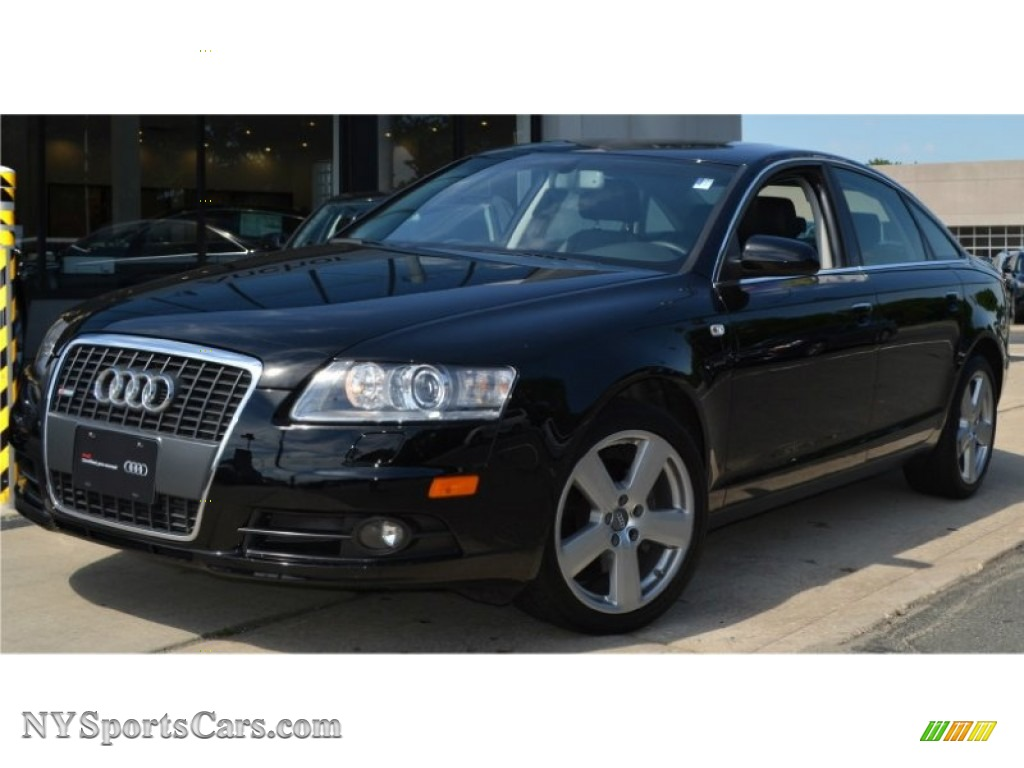 2008 audi a6 3 2 quattro sedan in brilliant black 123997 cars for sale in. Black Bedroom Furniture Sets. Home Design Ideas