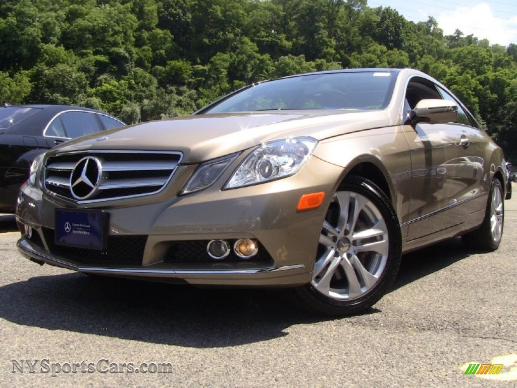 2010 mercedes benz e 350 coupe in pearl beige metallic for Mercedes benz e 350 for sale