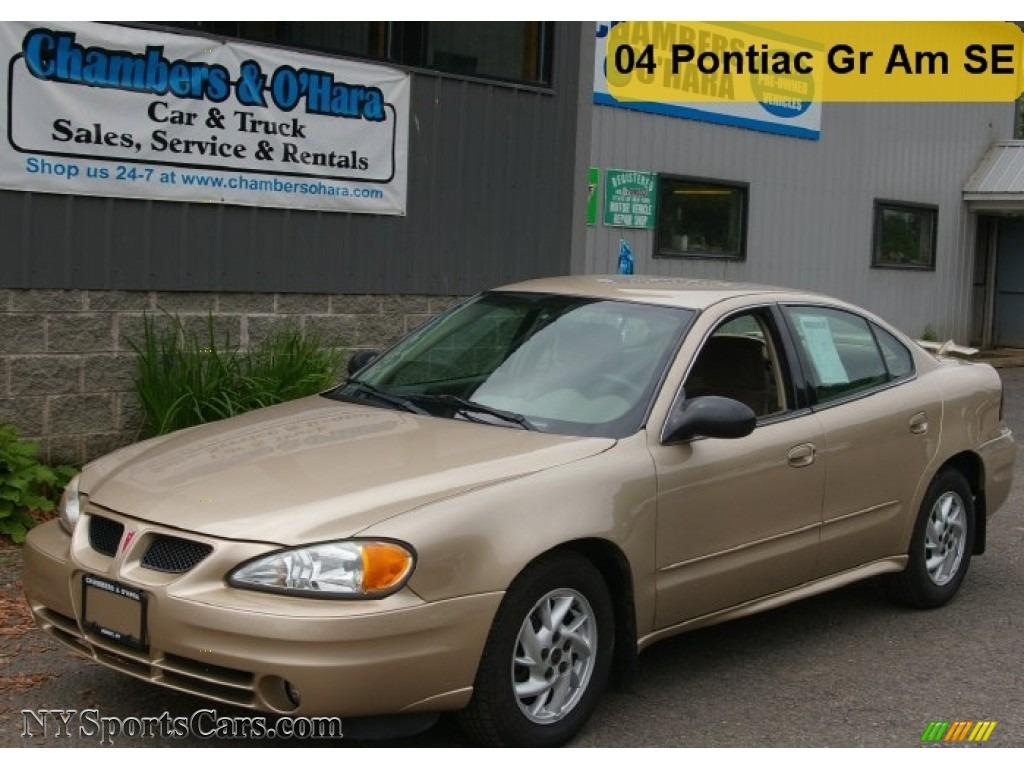 2004 pontiac grand am se sedan in champagne beige metallic 606550 cars. Black Bedroom Furniture Sets. Home Design Ideas