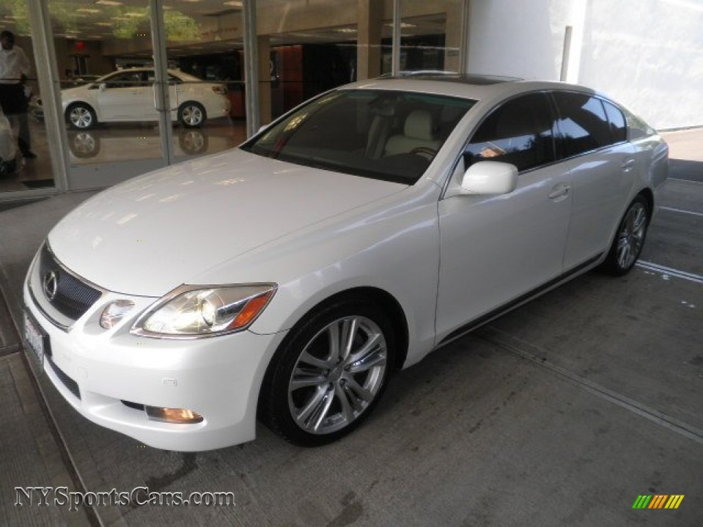 2007 lexus gs 450h hybrid in starfire white pearl photo 12 006809 cars. Black Bedroom Furniture Sets. Home Design Ideas