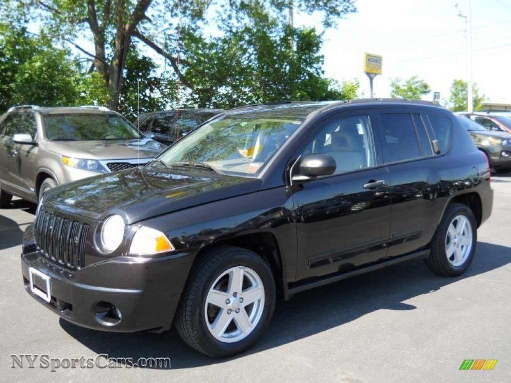 2008 jeep compass sport 4x4 in brilliant black crystal pearl 562079 cars. Black Bedroom Furniture Sets. Home Design Ideas
