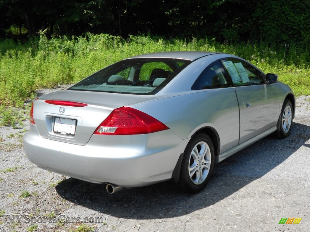 2007 Honda Accord Lx Coupe In Alabaster Silver Metallic