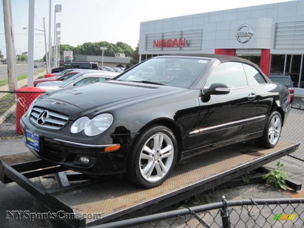 2008 mercedes benz clk 350 cabriolet in black 098891 for Black convertible mercedes benz