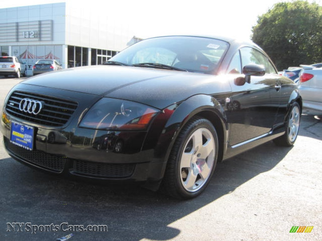 2002 audi tt 1 8t quattro coupe in raven black pearl effect 037127 cars. Black Bedroom Furniture Sets. Home Design Ideas