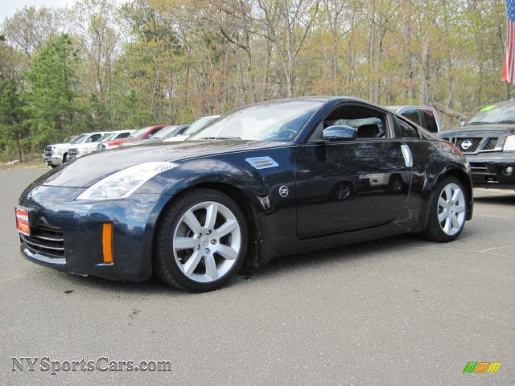 2008 nissan 350z coupe in san marino blue 752229 cars for sale in new york. Black Bedroom Furniture Sets. Home Design Ideas