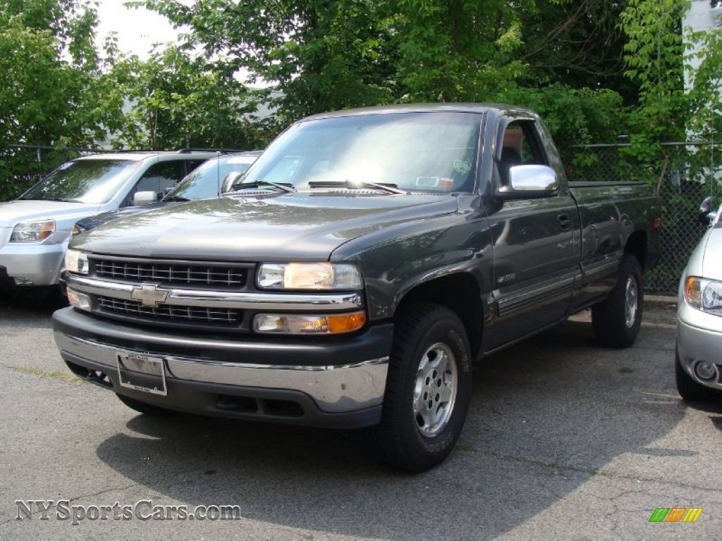 2000 chevrolet silverado 1500 ls regular cab 4x4 in charcoal gray. Cars Review. Best American Auto & Cars Review