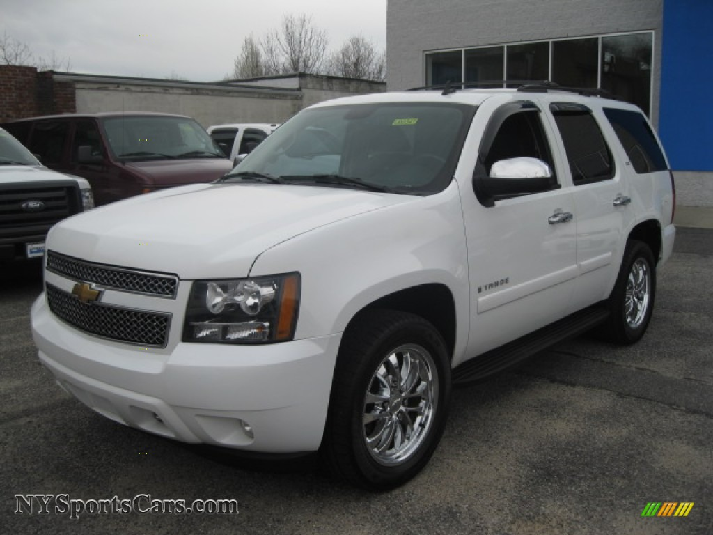 2008 chevrolet tahoe ltz 4x4 in summit white 105238 cars for sale in new york. Black Bedroom Furniture Sets. Home Design Ideas