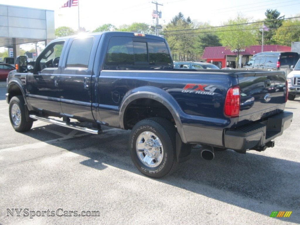 2008 Ford F350 Super Duty Fx4 Crew Cab 4x4 In Dark Blue