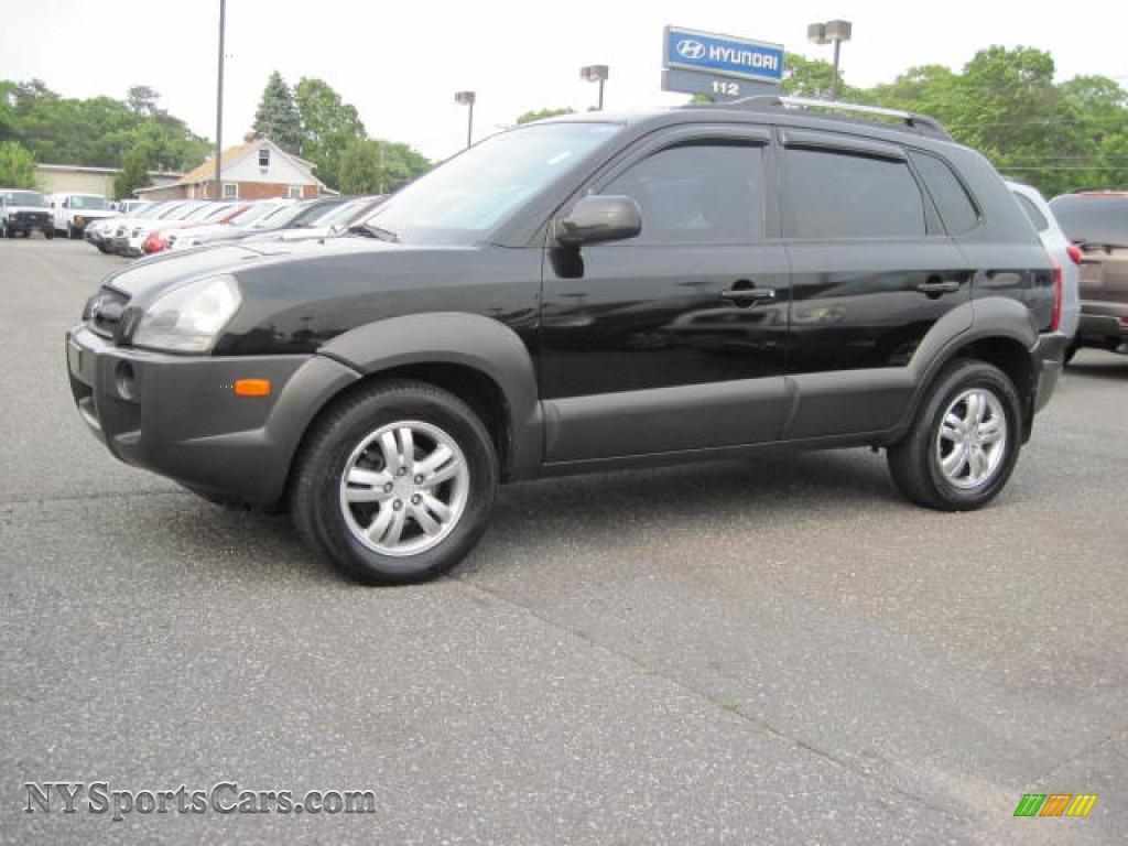 2006 Hyundai Tucson GLS V6 in Obsidian Black - 284885 ...