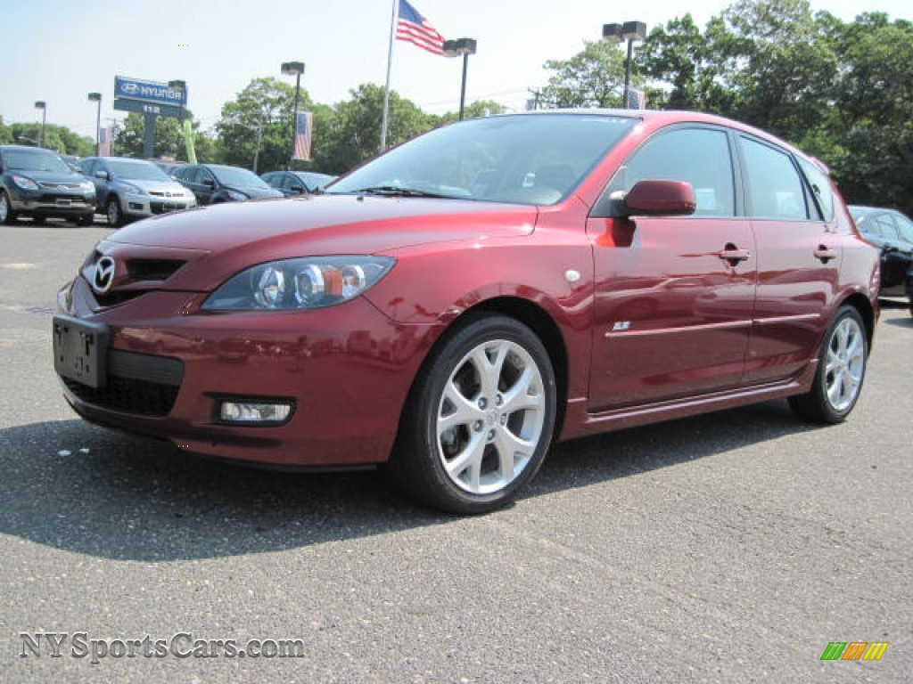 2009 mazda mazda3 s grand touring hatchback in copper red. Black Bedroom Furniture Sets. Home Design Ideas