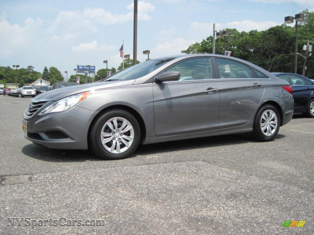 2011 Hyundai Sonata Gls In Harbor Gray Metallic 032890