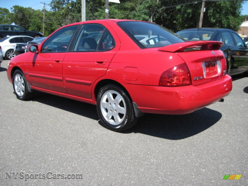 2006 nissan sentra 1 8 s special edition in code red photo 2 527375 cars. Black Bedroom Furniture Sets. Home Design Ideas