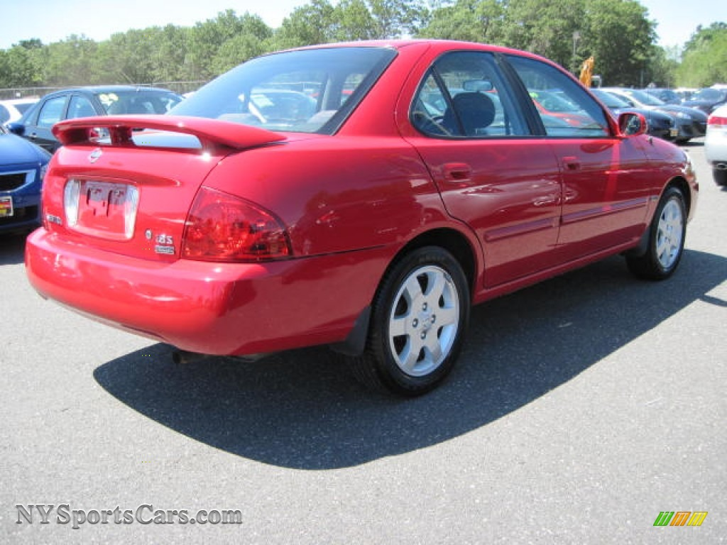 2006 nissan sentra 1 8 s special edition in code red photo 3 527375 cars. Black Bedroom Furniture Sets. Home Design Ideas