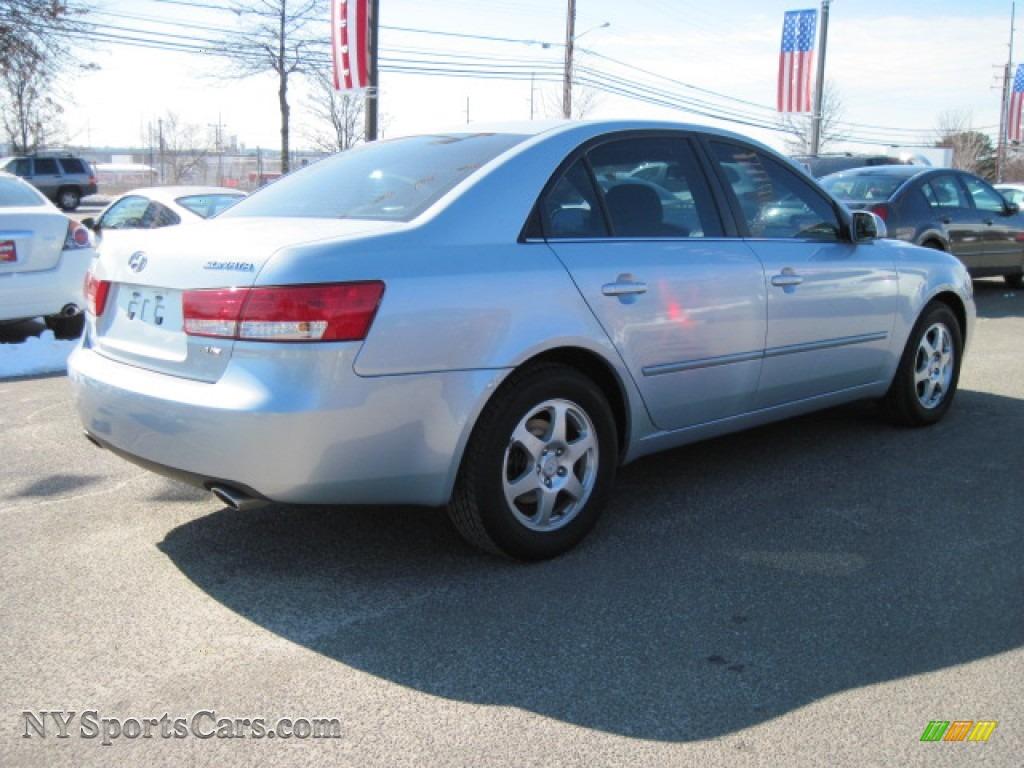 2006 Hyundai Sonata Gls V6 In Silver Blue Metallic Photo