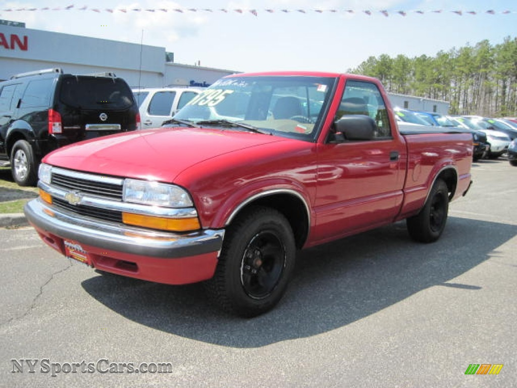 1998 Chevrolet S10 Regular Cab In Bright Red 245881