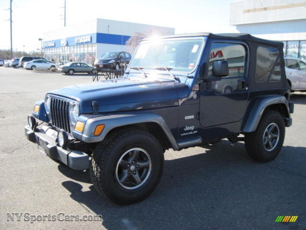 jeep wrangler    patriot blue pearl photo   nysportscarscom cars