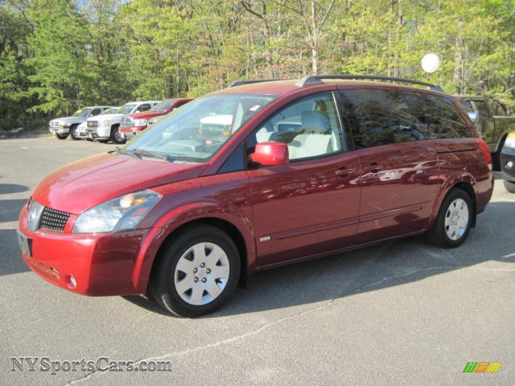 2006 Nissan Quest 3 5 S In Red Brawn Metallic 114038