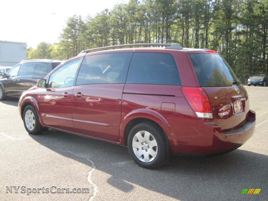 2006 nissan quest 3 5 s in red brawn metallic photo 2 114038 cars for. Black Bedroom Furniture Sets. Home Design Ideas