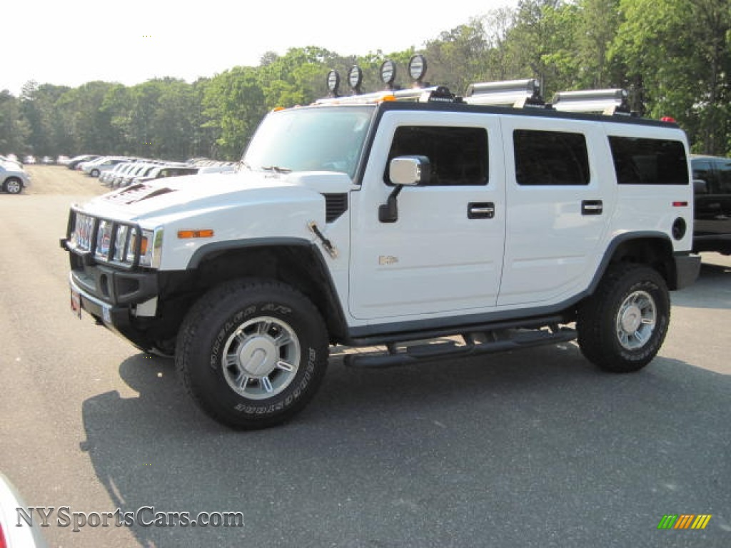 2003 Hummer H2 Suv In White 117452 Nysportscars Com