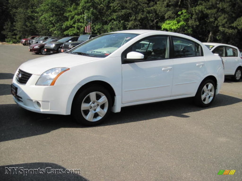 2009 nissan sentra 2 0 in fresh powder white 620991 cars for sale in new york. Black Bedroom Furniture Sets. Home Design Ideas