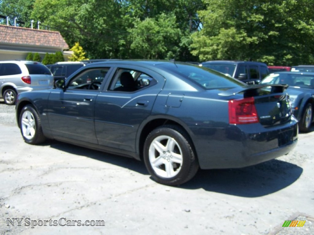 2008 Dodge Charger Se In Steel Blue Metallic Photo 2