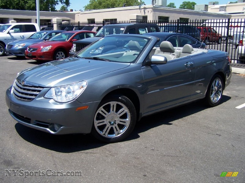 2008 Chrysler Sebring Limited Hardtop Convertible In Silver Steel Metallic 150227