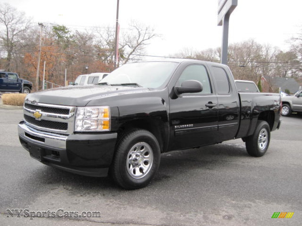 2007 Chevrolet Silverado 1500 LT Extended Cab 4x4 in Blue Granite ...