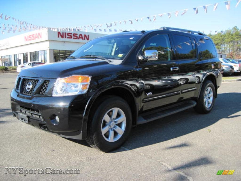2008 Nissan Armada Le 4x4 In Galaxy Black 605131 Nysportscars Com Cars For Sale In New York
