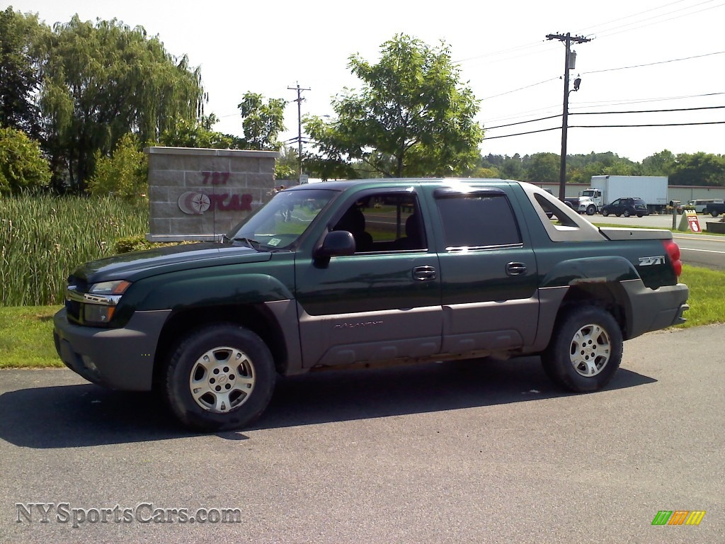 2002 chevrolet avalanche z71 4x4 in forest green metallic 297767 cars for. Black Bedroom Furniture Sets. Home Design Ideas