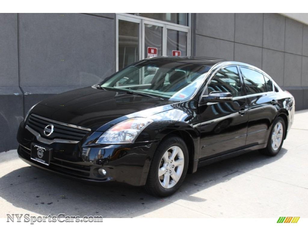 2008 Nissan Altima 3 5 Sl In Super Black 240500 Nysportscars Com Cars For Sale In New York