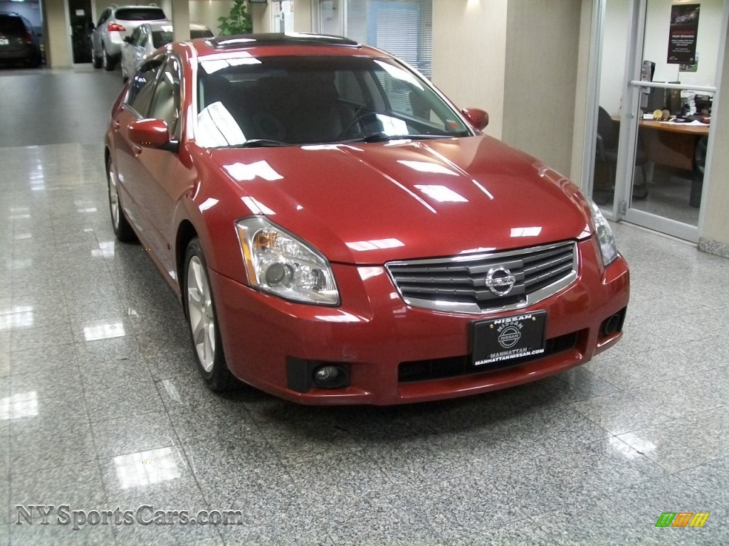 2007 nissan maxima 3 5 se in sonoma sunset metallic 800328 cars for sale. Black Bedroom Furniture Sets. Home Design Ideas