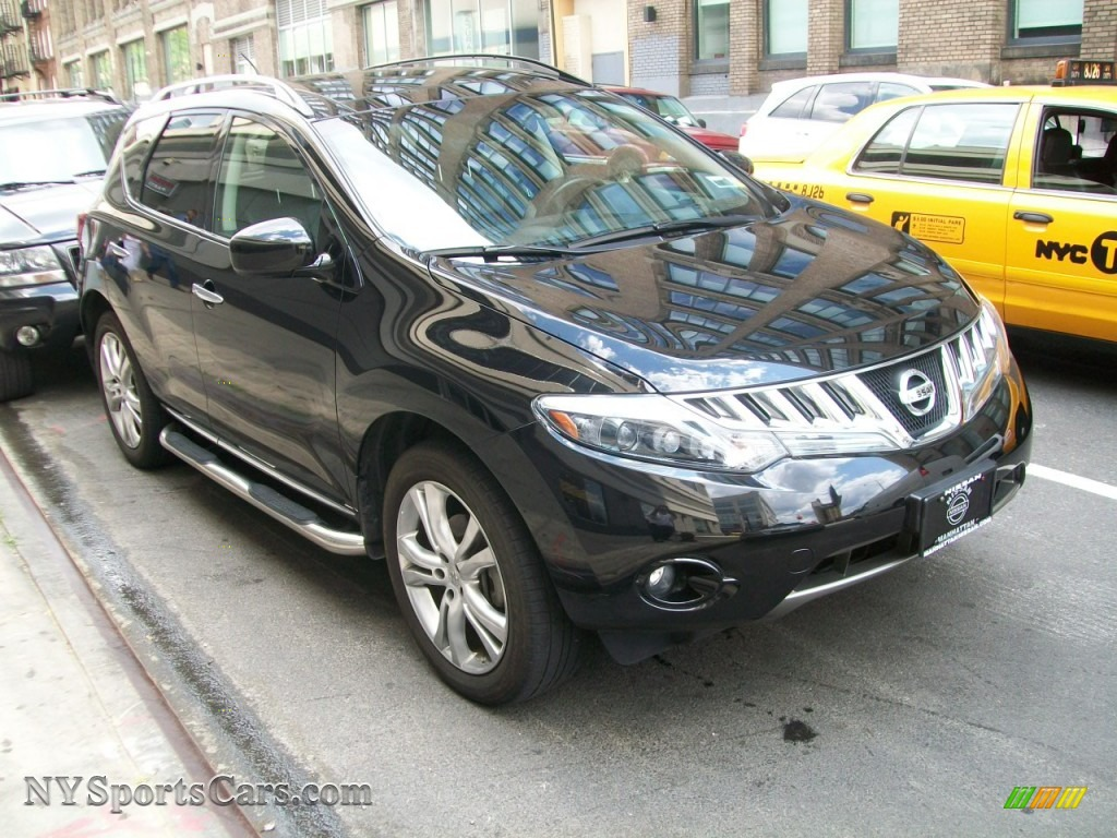 2009 nissan murano le awd in super black 156862 cars for sale in new york. Black Bedroom Furniture Sets. Home Design Ideas