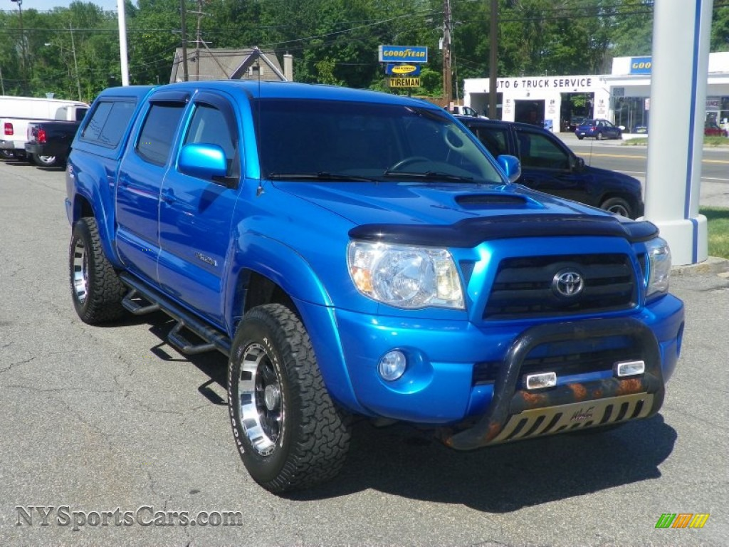 2006 Toyota Tacoma V6 Trd Sport Double Cab 4x4 In Speedway