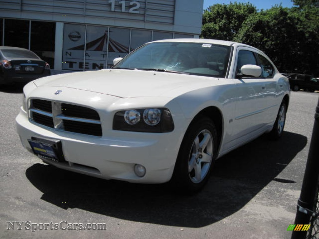2010 Dodge Charger Sxt In Stone White 156296