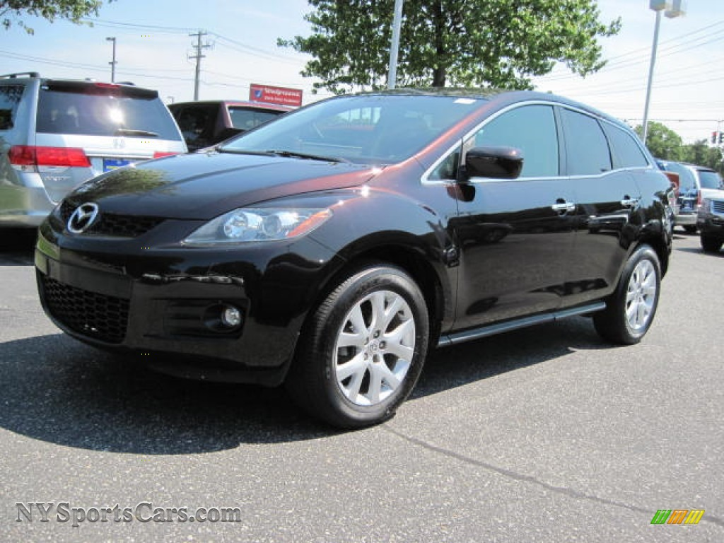 2007 mazda cx 7 touring in black cherry mica 102230. Black Bedroom Furniture Sets. Home Design Ideas