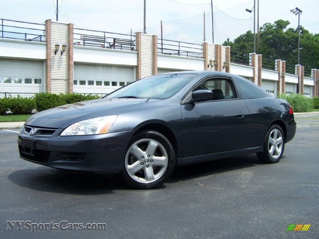 2006 Honda Accord Ex L V6 Coupe In Graphite Pearl 009923
