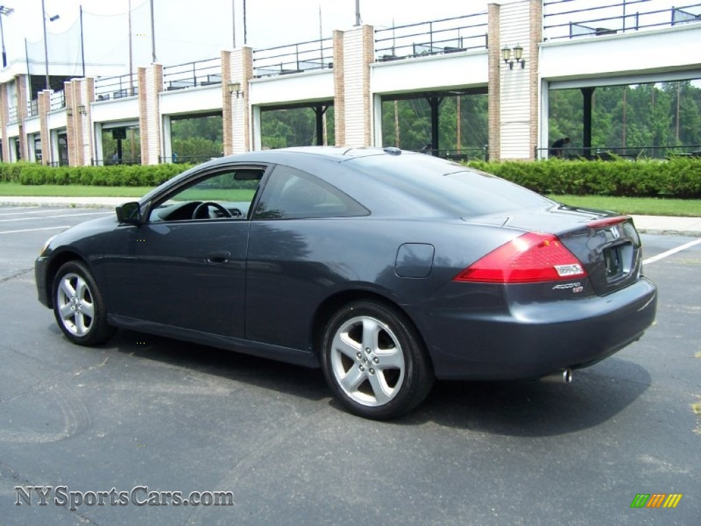 2006 Honda Accord Ex L V6 Coupe In Graphite Pearl Photo 4 009923 Nysportscars Com Cars