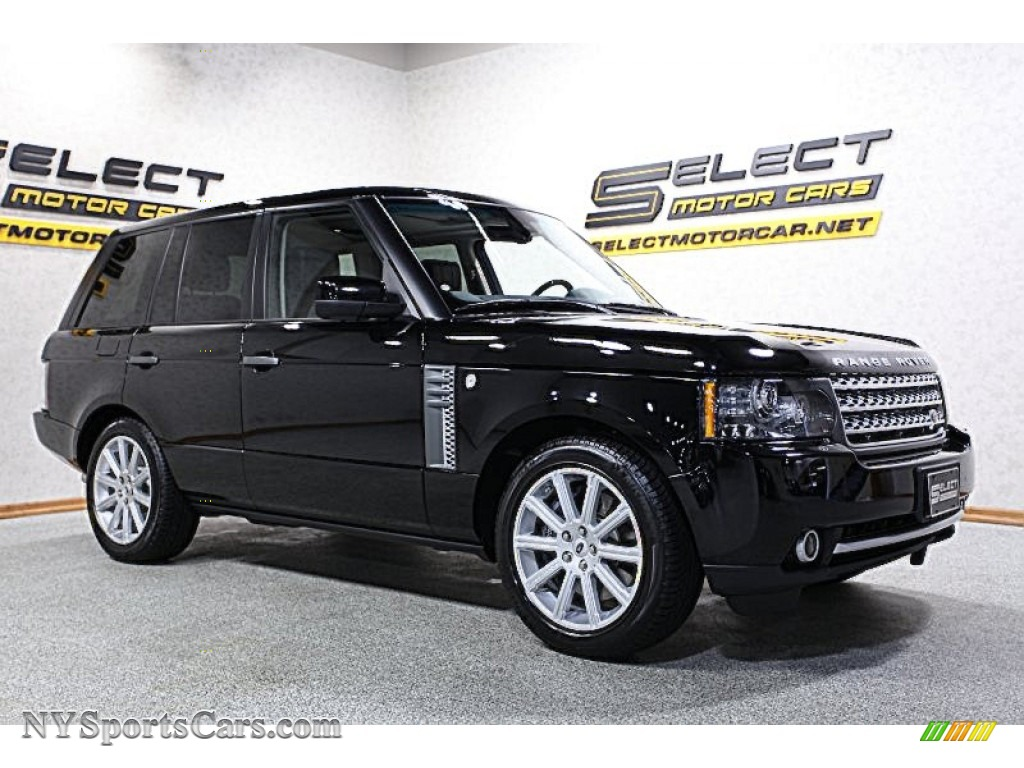 2011 land rover range rover supercharged in barolo black. Black Bedroom Furniture Sets. Home Design Ideas