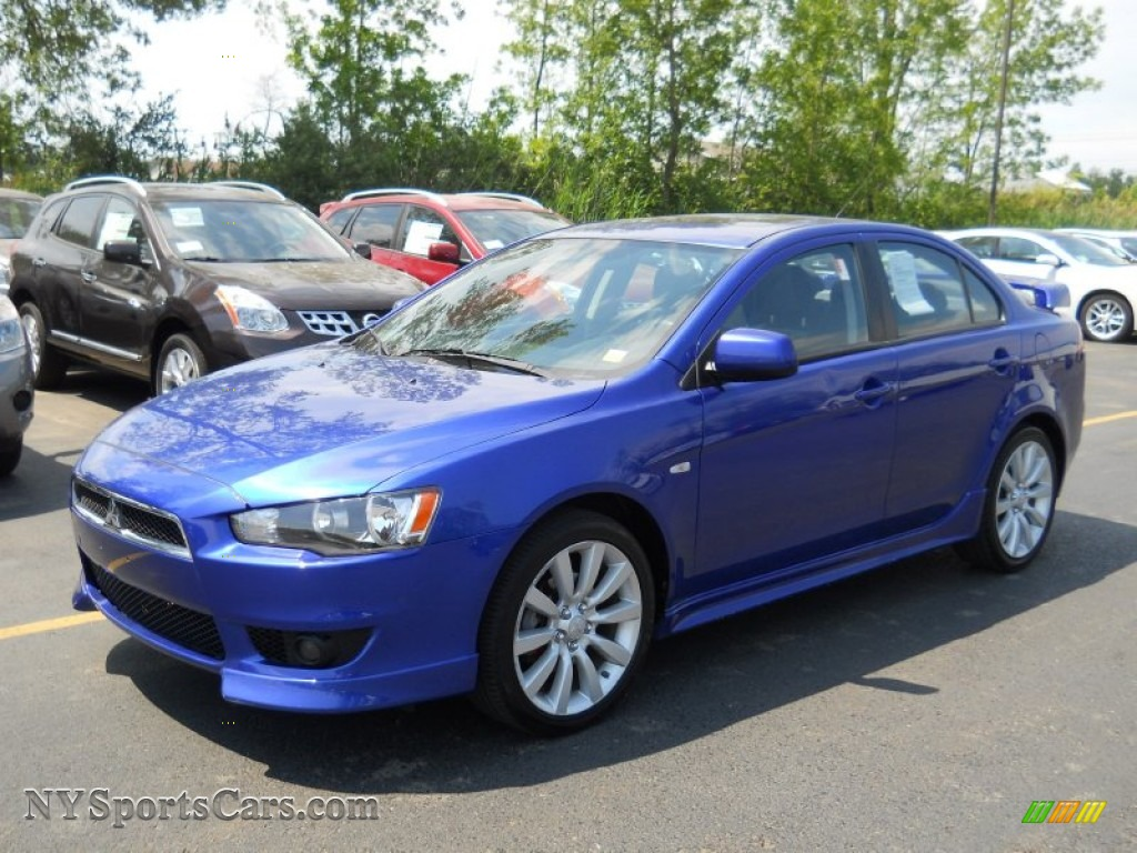 2008 mitsubishi lancer gts in electric blue pearl 022265 cars for sale in. Black Bedroom Furniture Sets. Home Design Ideas