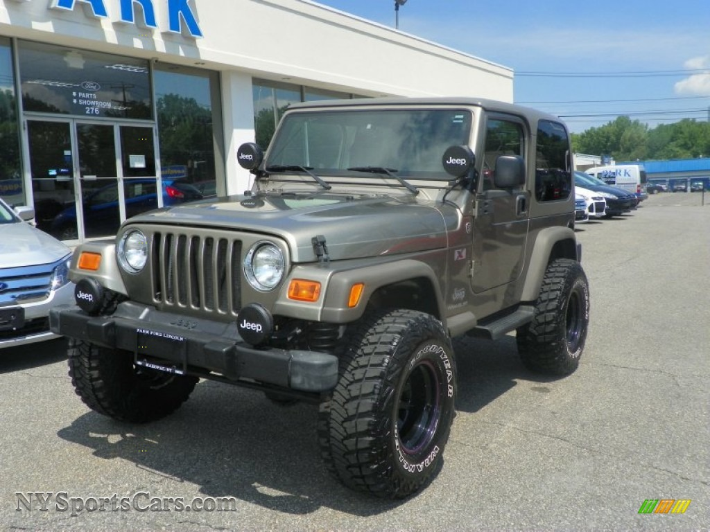 2005 jeep wrangler x 4x4 in light khaki metallic 322558 cars for sale in. Black Bedroom Furniture Sets. Home Design Ideas