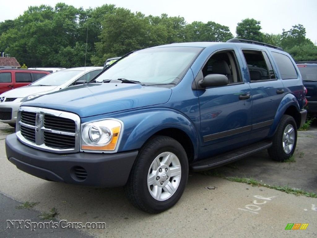 2005 Dodge Durango Slt 4x4 In Atlantic Blue Pearl 553862
