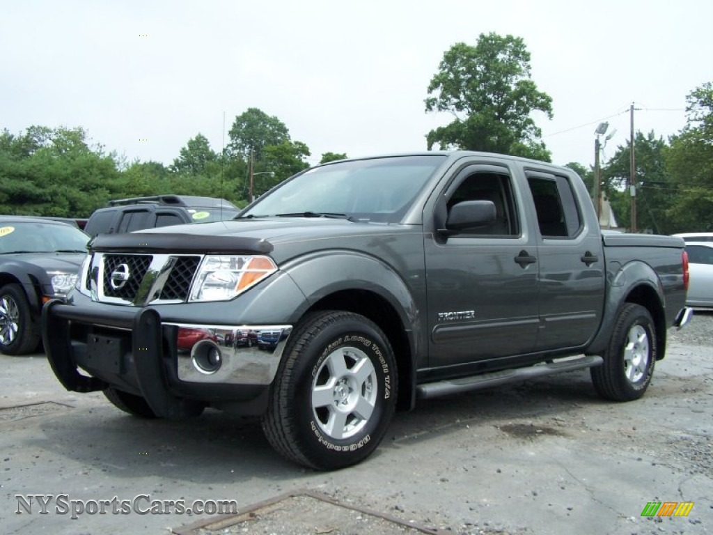 2007 nissan frontier se crew cab 4x4 in storm gray 400761 cars for sale. Black Bedroom Furniture Sets. Home Design Ideas