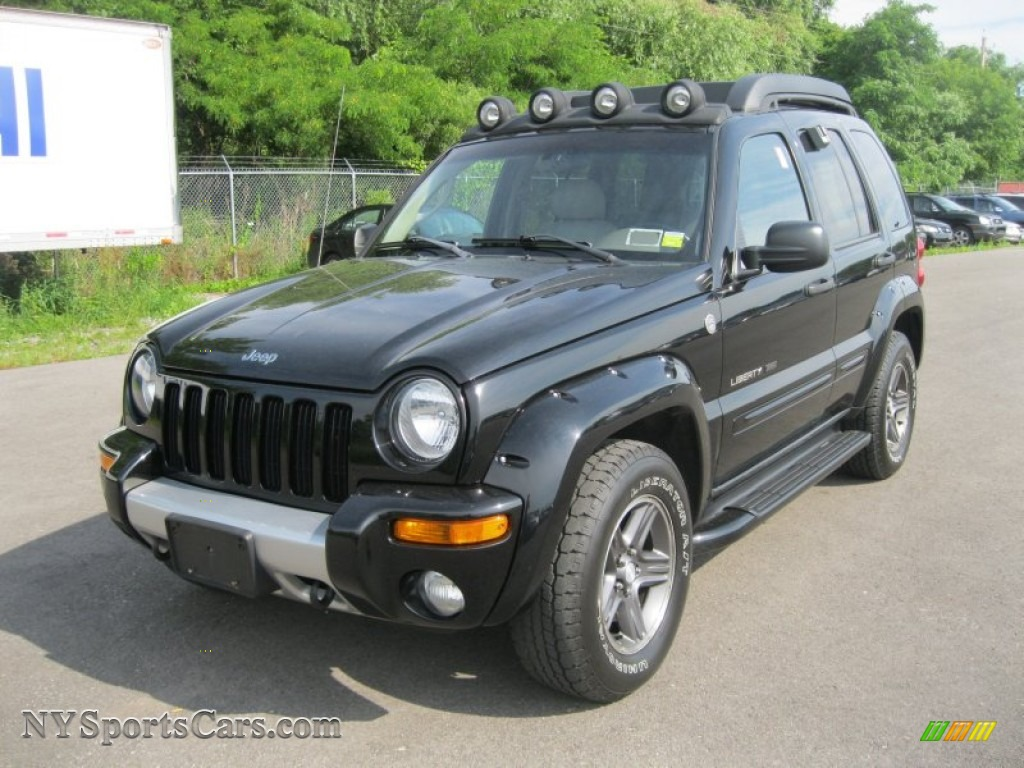 2003 jeep liberty renegade 4x4 in black clearcoat 599037 cars for sale in. Black Bedroom Furniture Sets. Home Design Ideas