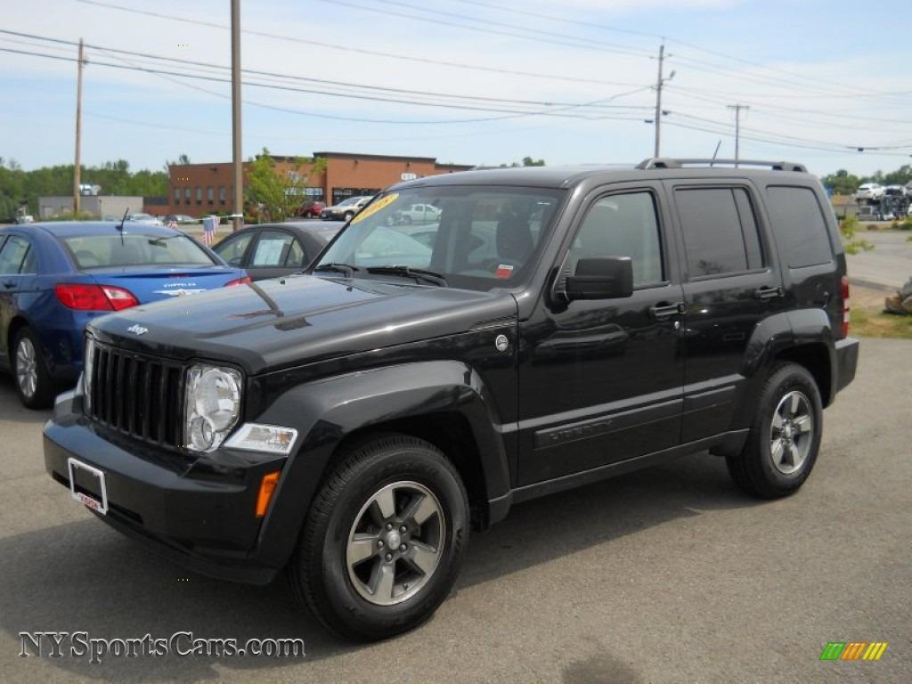 2008 Jeep Liberty Sport 4x4 In Brilliant Black Crystal Pearl 229566 Nysportscars Com Cars