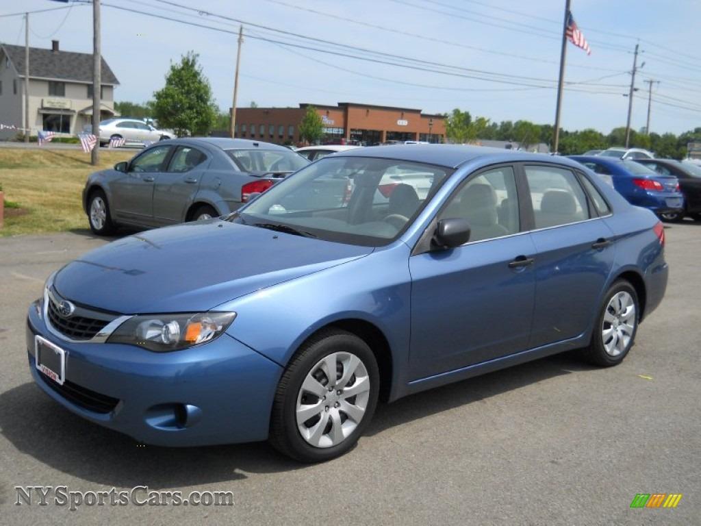 Honda Dealer Ny 2008 Subaru Impreza 2.5i Sedan in Newport Blue Pearl ...