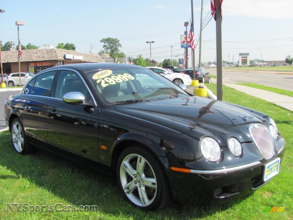2008 jaguar s type 4 2 in ebony black photo 17 n87822 cars for sale in. Black Bedroom Furniture Sets. Home Design Ideas