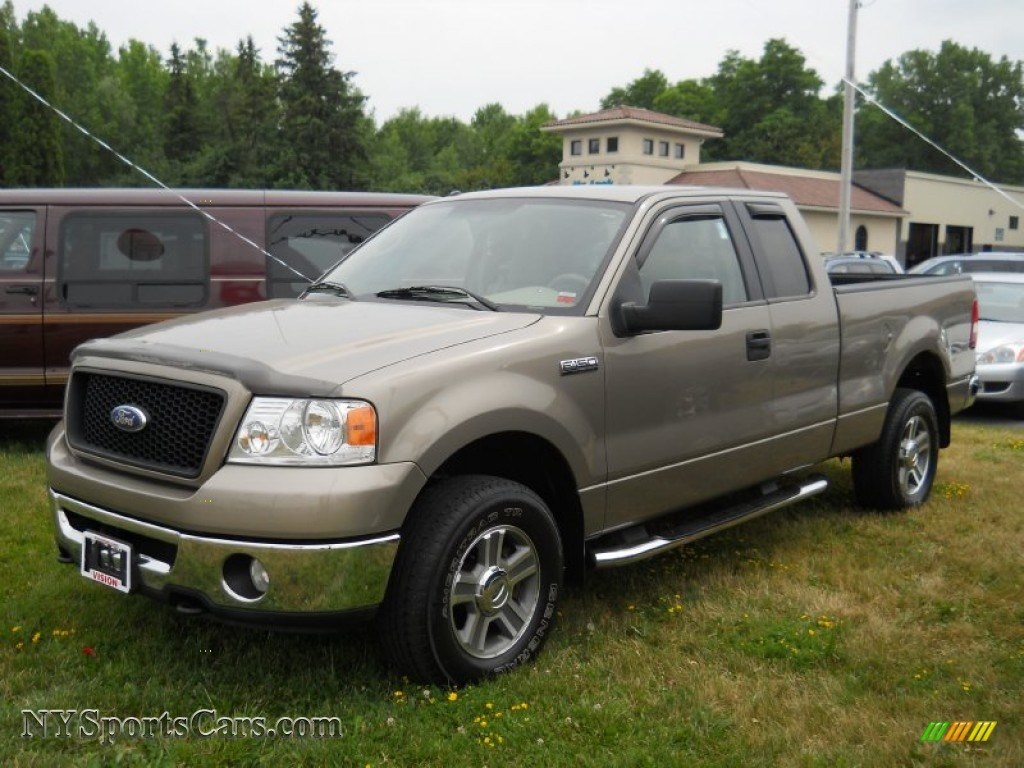 Ford ford 2006 f150 : 2006 Ford F150 XLT SuperCab 4x4 in Arizona Beige Metallic - B64480 ...