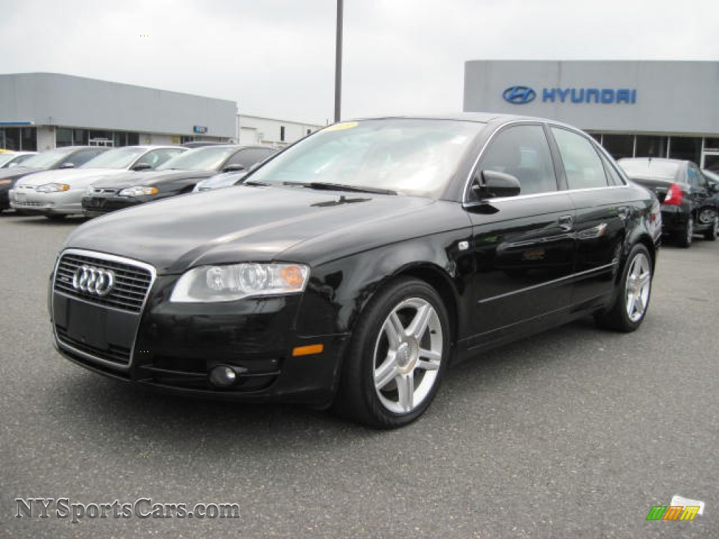 2005 Audi A4 2 0t Quattro Sedan In Brilliant Black
