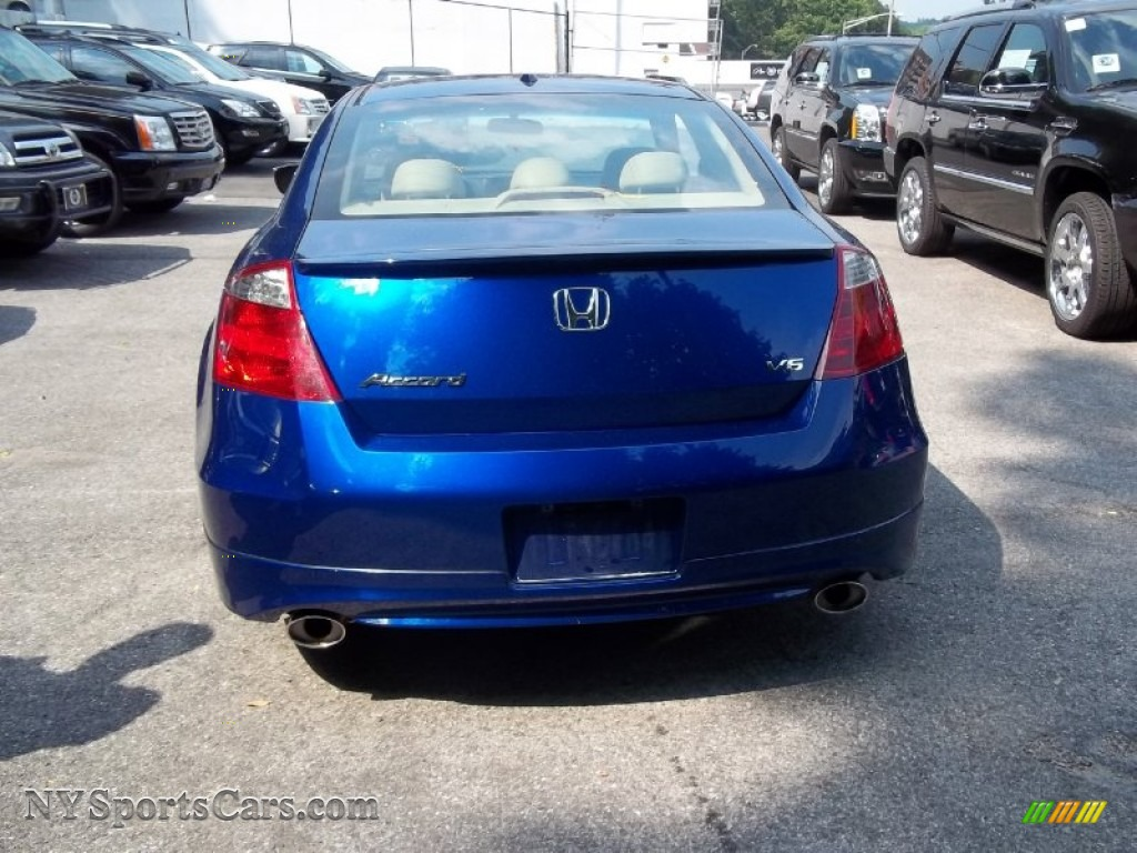 2008 honda accord ex l v6 coupe in belize blue pearl photo 5 001193 cars. Black Bedroom Furniture Sets. Home Design Ideas