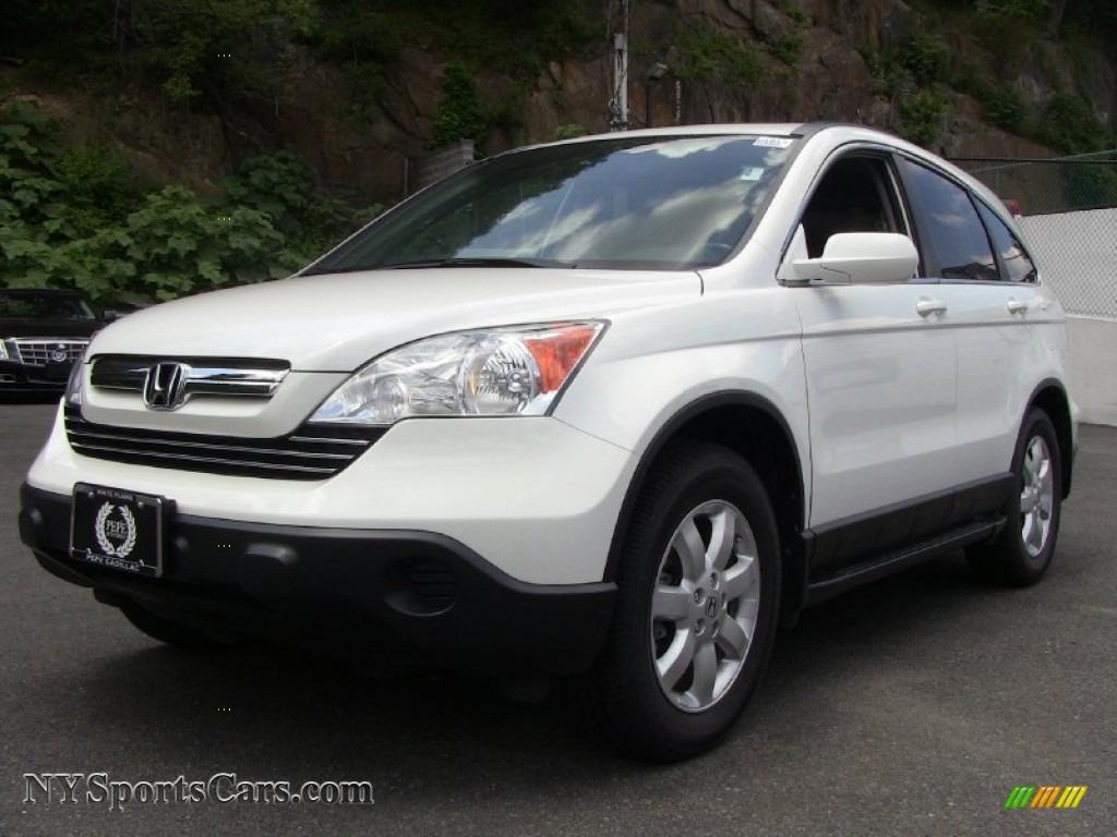 2008 Honda Cr V Ex L 4wd In Taffeta White 022957